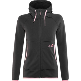 Maloja AmaliaM. Uni Hooded Fleece Jacket Damen moonless